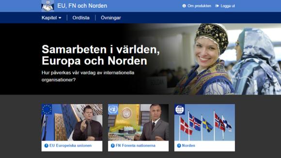 Bild av EU, FN och Norden