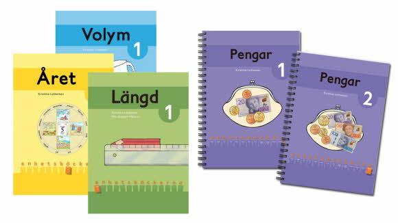 Omslag fem enhetsböcker