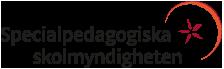 Specialpedagogiska skolmyndighetens logotyp