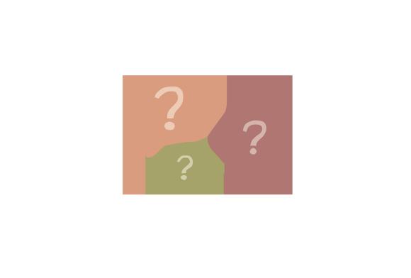 Tre pratbubblor med frågetecken