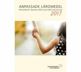 Omslag Anpassade läromedel 2017
